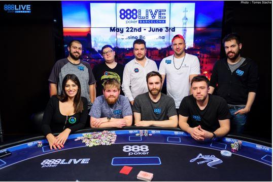 888poker live londres bros vs pros