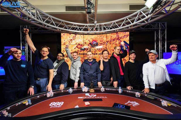 888poker live londres mesa final