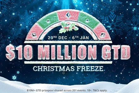 christmas freeze partypoker 450