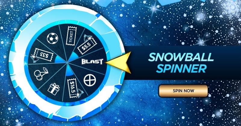 snowball spinner winter bonanza 888poker g
