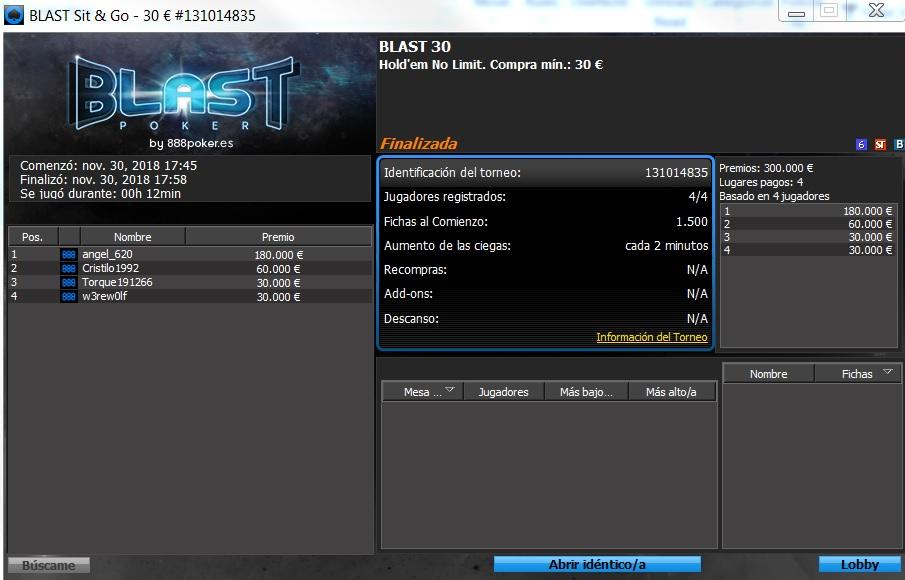 blast 888POKER 30 11
