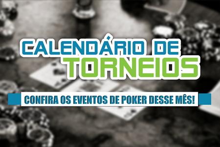 calendario de torneios de poker janeiro