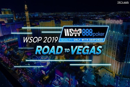 road to vegas 888 wsop 2019