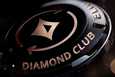 diamond club elite partypoker 450