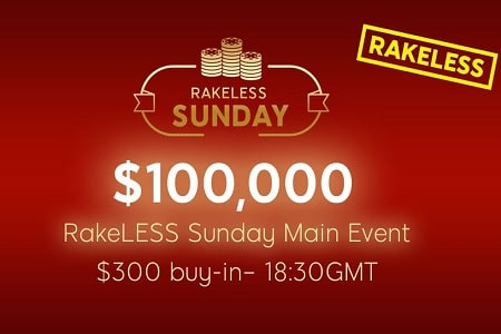 rakeless 888poker 450