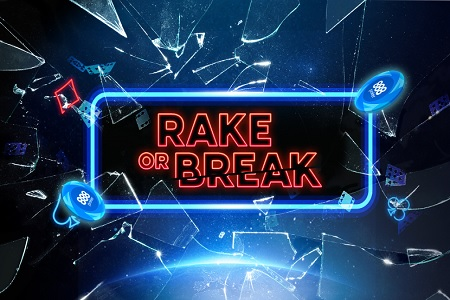 rake or break 888poker 450