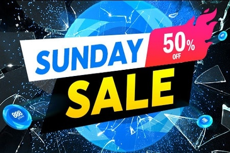 sunday sale 888poker 450
