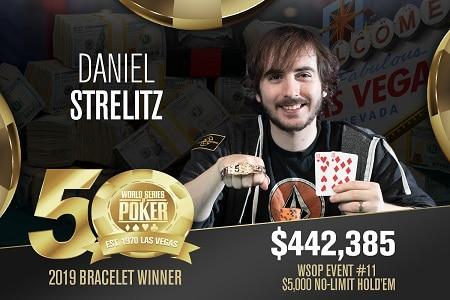 DANIEL STRELITZ WSOP 450