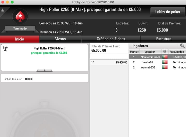 high roller pokerstars frespt