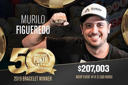 murilo figueredo campeao bracelete wsop 450
