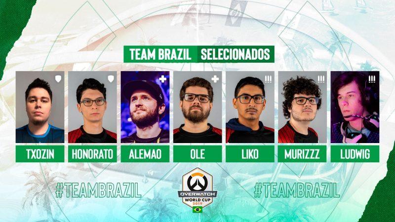 seleção brasileira overwatch