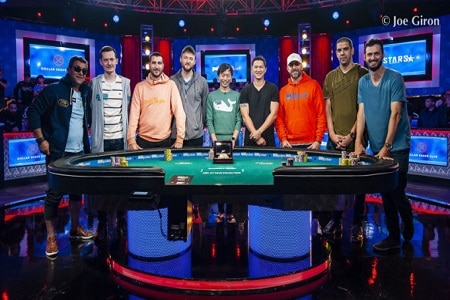 Mesa final main event WSOP 2019