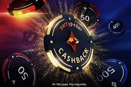 cashback partypoker 450