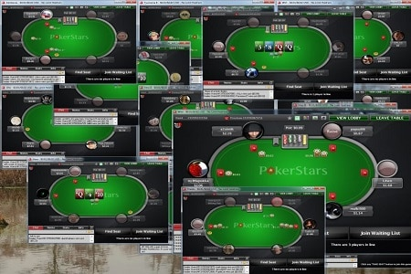 PokerStars-multitabling