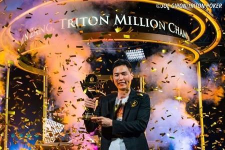 aaron zang triton million 450