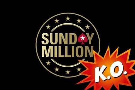 sunday million pokerstars ko 450