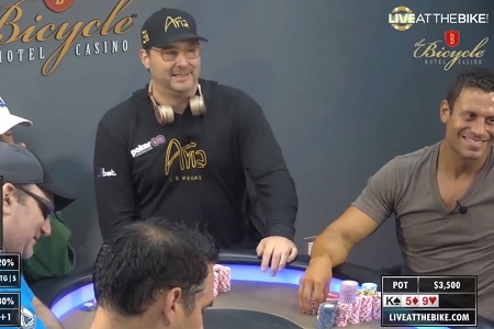phil hellmuth live at the bike 450
