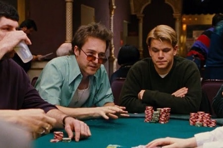 Edward Norton Matt Damon Cartas na Mesa