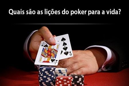 lições do poker para a vida