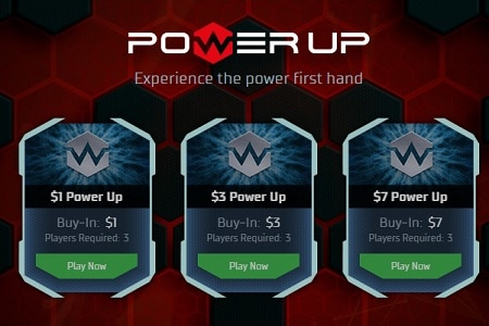 power up pokerstars 450