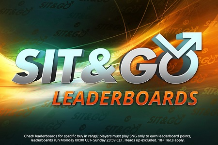sit and go leaderboard partypoker 450