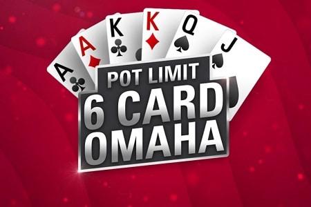 pot limit omaha 6 card 450