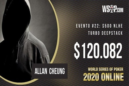 Allan Cheung WSOP Online