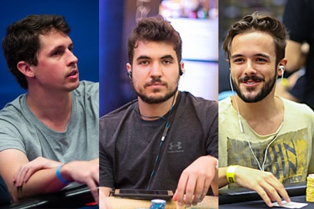 Brunno Volkmann, Yuri Martins, Victor Begara