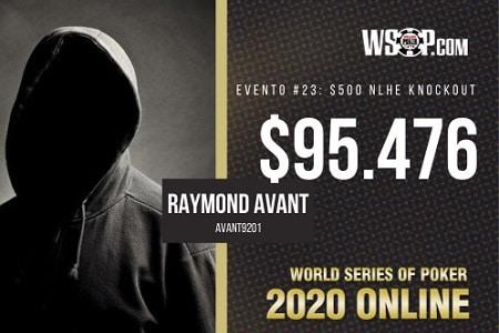 """Raymond """"avant9201"""" Avant"""