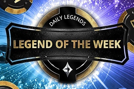 legend of the week partypoker 450