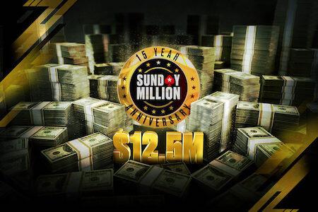 Sunday Million 15º aniversário