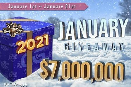 january cash giveway ggpoker 450